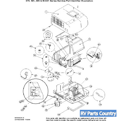 Dometic Camper Air Conditioner Capacitor, Dometic RV Air