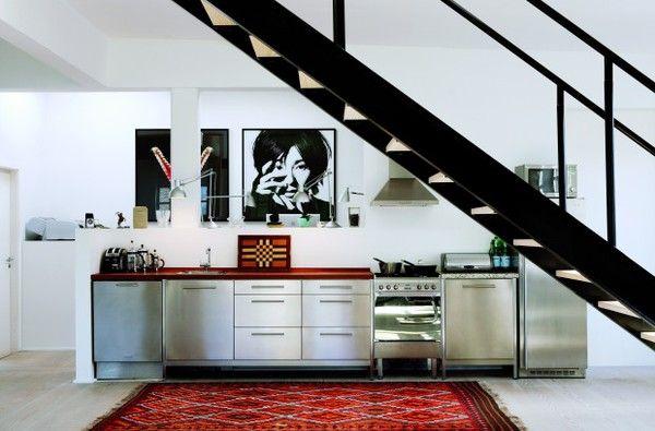 chrome kitchen
