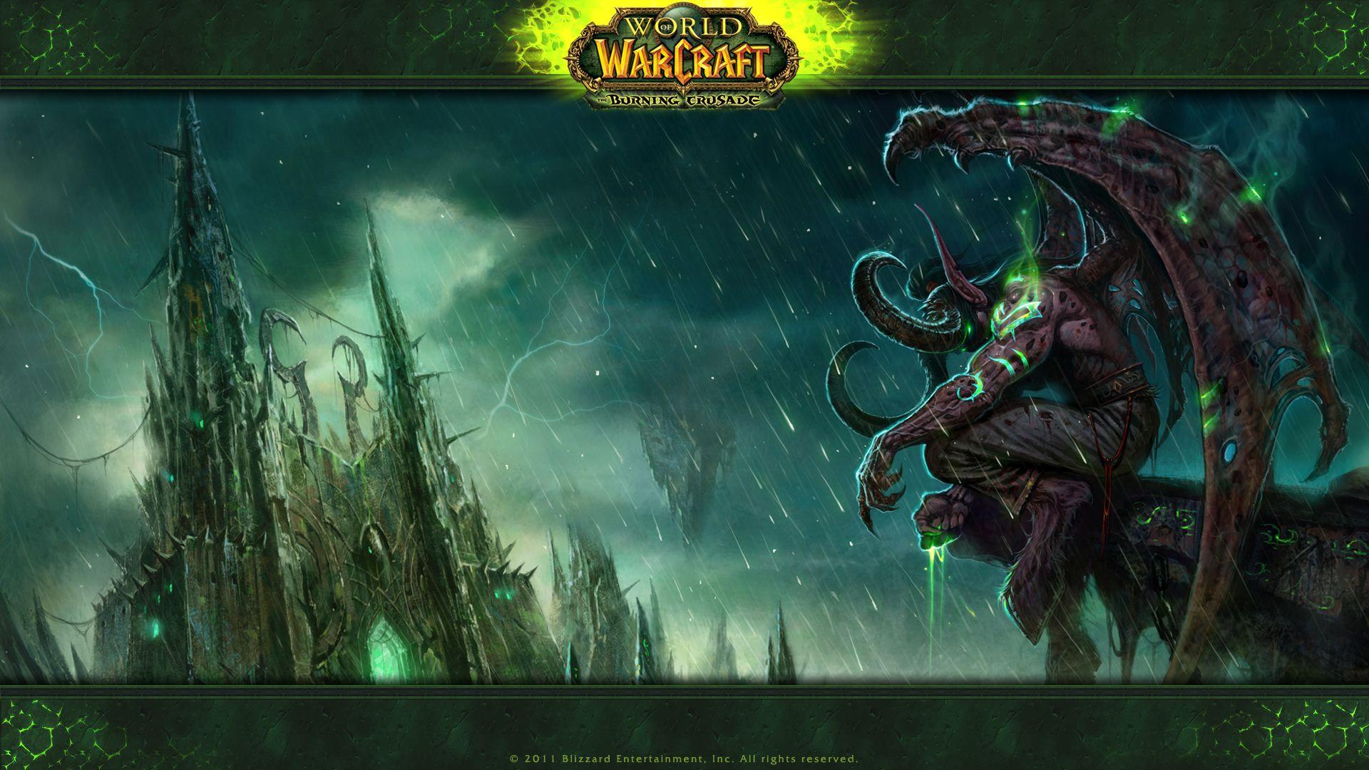 World Of Warcraft Illidan Wow World Of Warcraft Wallpaper World