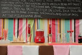 A Milkshake Bar! YUMMMMY!