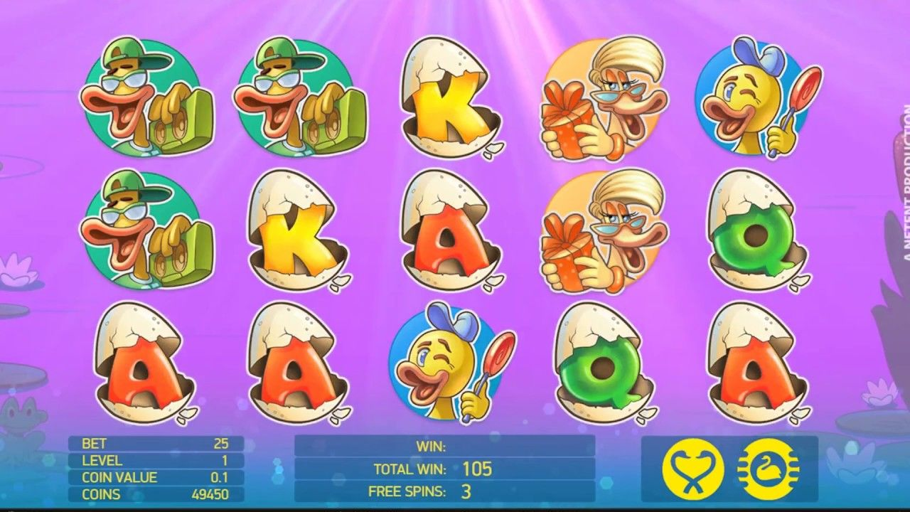 NetEnt Casinos Welcome New Scruffy Duck Slot