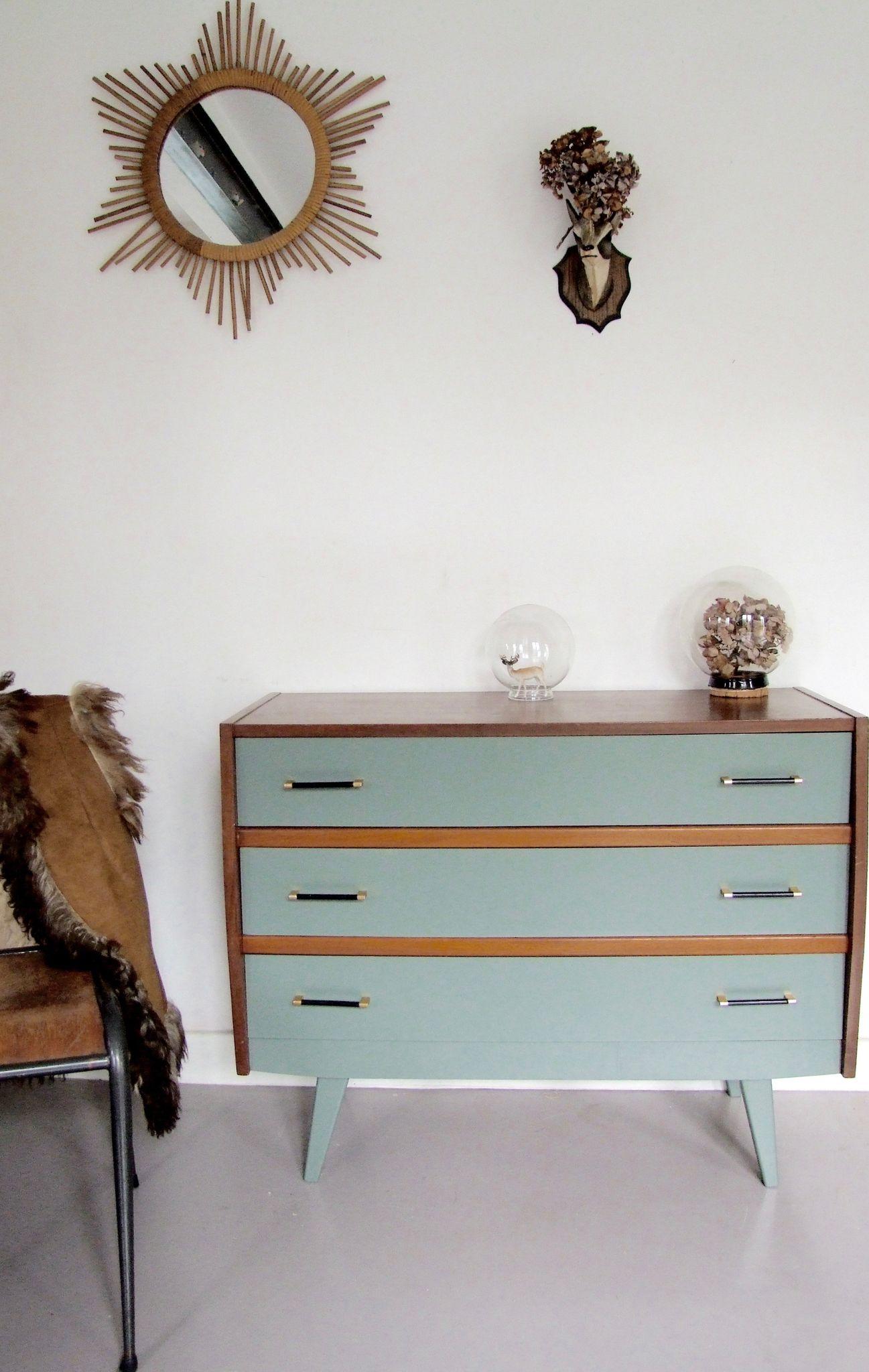 commode vintage pieds compas lullaby meubles vintage pataluna chin s d nich s et d lur s. Black Bedroom Furniture Sets. Home Design Ideas