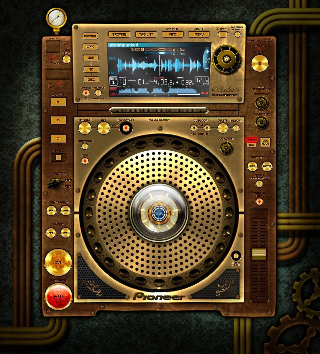 pin pioneer cdj 2000 - photo #4
