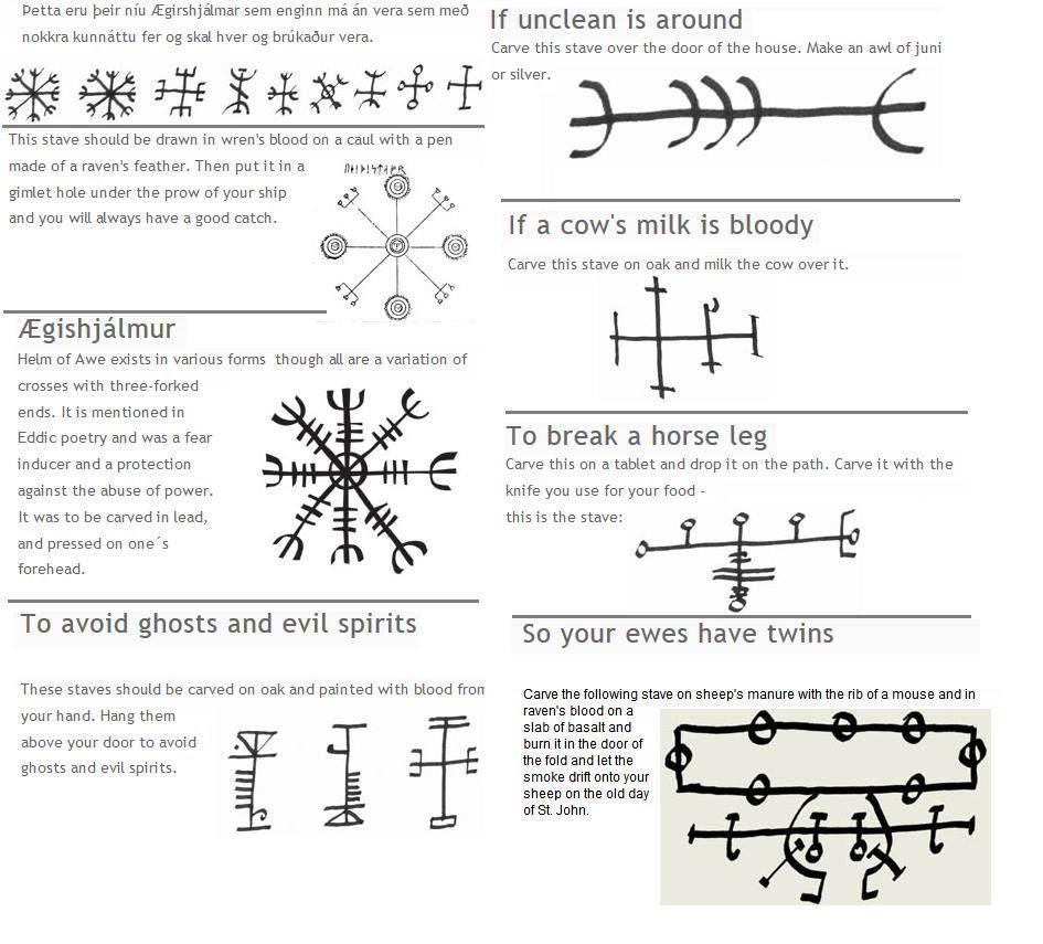 Icelandic magic symbols different pinterest magic symbols and icelandic magic symbols buycottarizona Choice Image