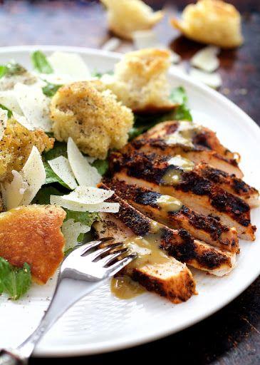 Blackened chicken caesar salad recipe yummly food drink blackened chicken caesar salad recipe yummly forumfinder Choice Image