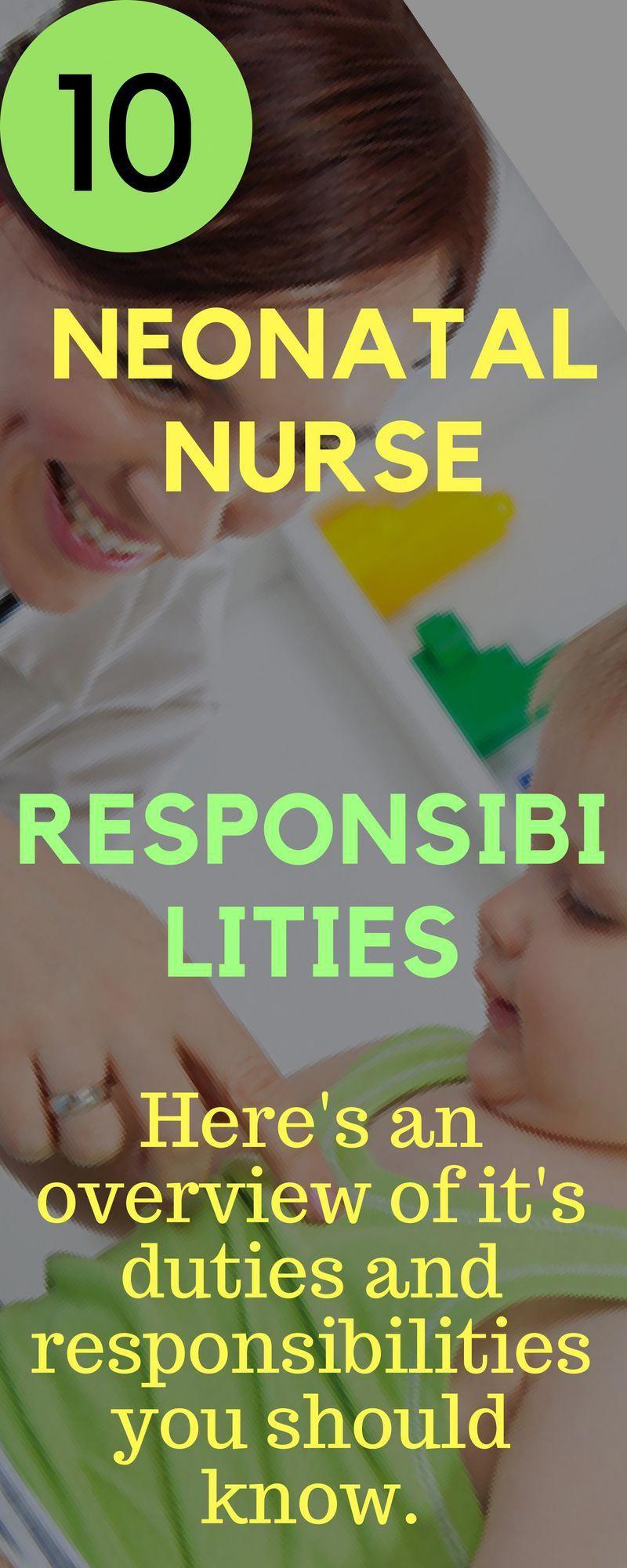 How To Become A Neonatal Nurse Or Nursery Salary Job Description And Career Nursepractitionerschooling