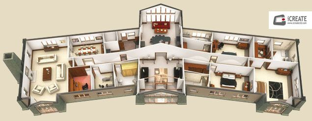 House Of Equilibrium 1 See More Riad 3d Floorplan