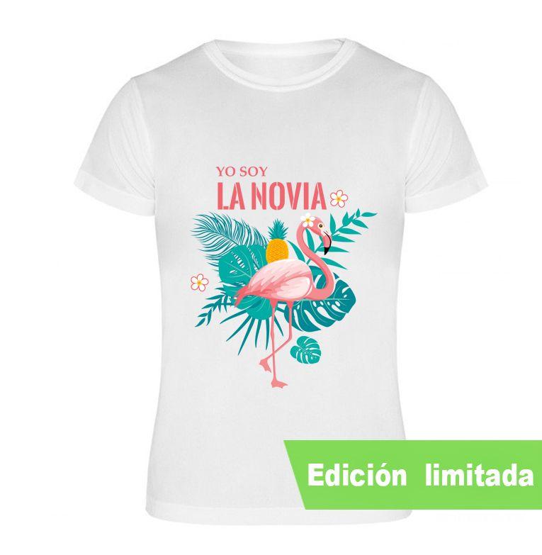 Camiseta Despedida De Soltera Yo Soy La Novia Flamenca