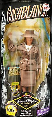 1998-Casablanca-Ilsa-Lund-Laszlo-Fully-Poseable-Action-Figure-with-Display-Base