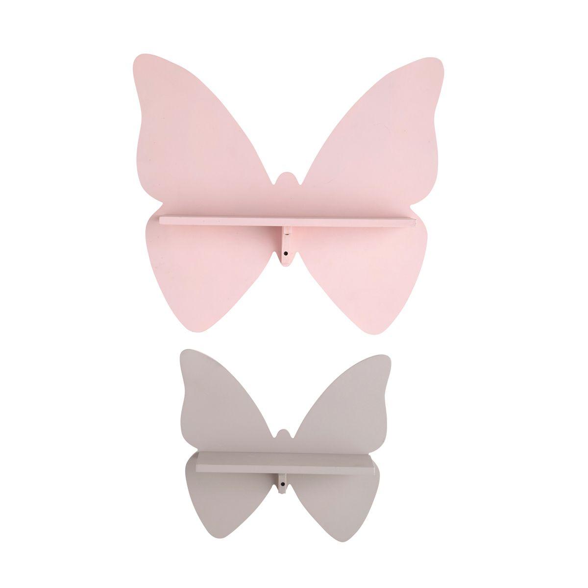 2 étagères butterfly maison du monde dco chambre bb