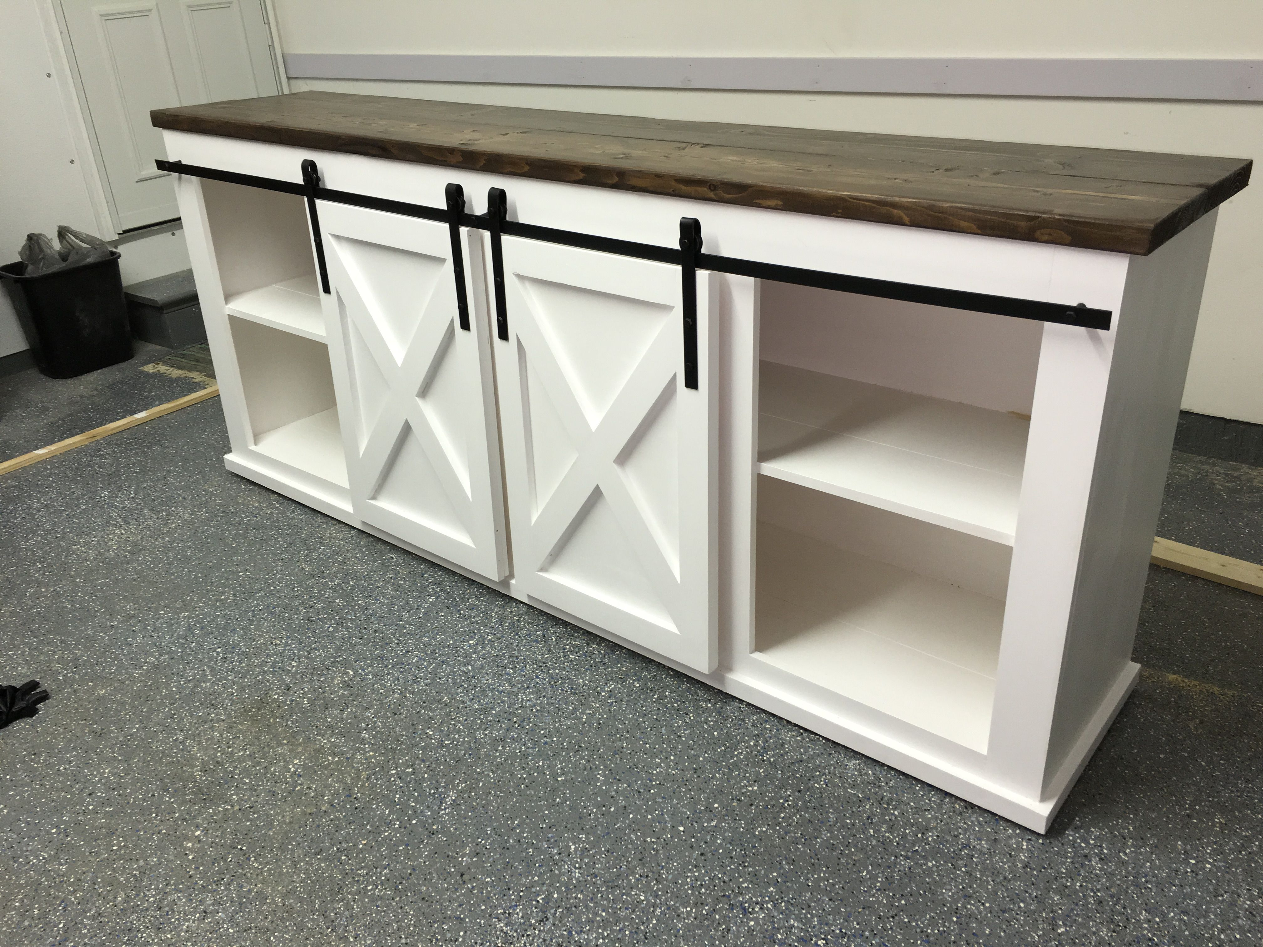 Grandy Sliding Door Console Do It Yourself Home Projects