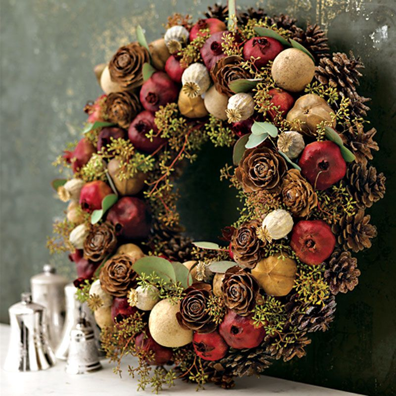 Fifty Fall Wreath Ideas & Inspiration For the Entire Autumn Season - bystephanielynn