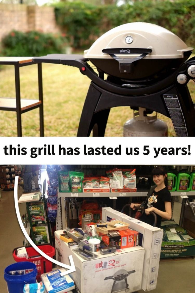 We Bought This Cast Iron Weber Q 3200 Grill When We First Bought Our House And It S Still Going Strong Officially R Propane Gas Grill Grilling Cast Iron Grill