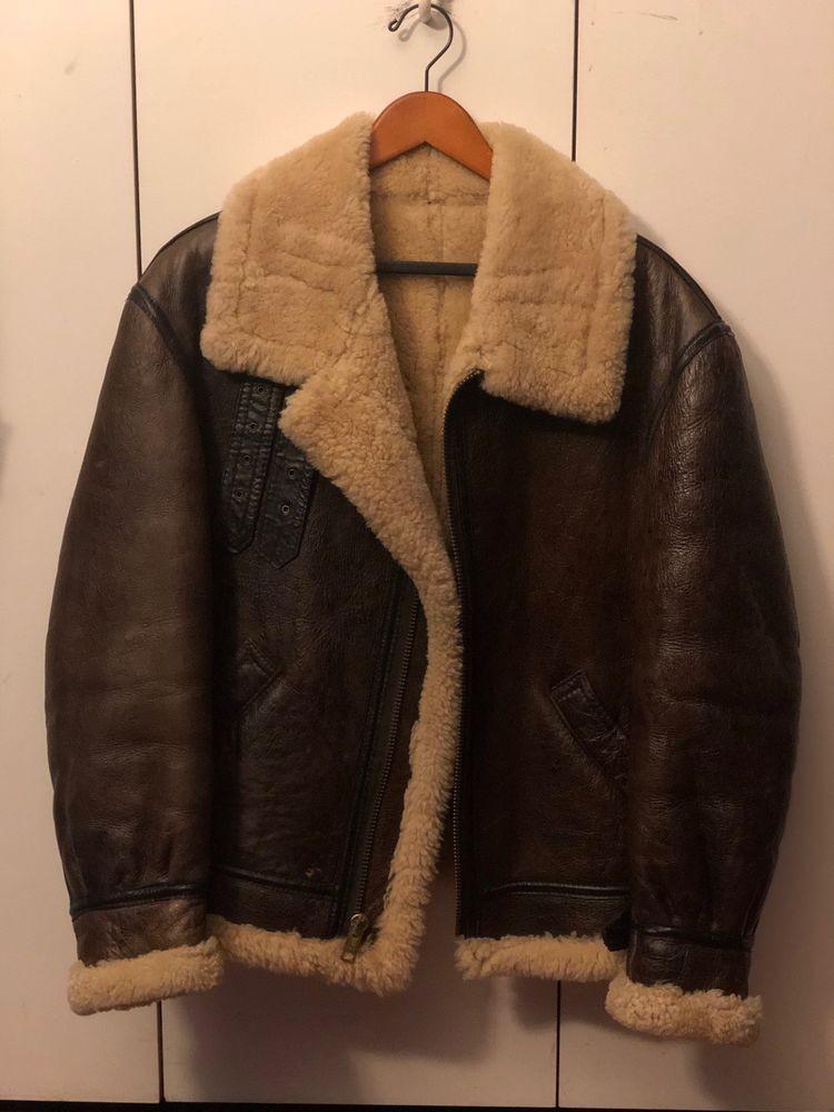 24aff79892b6 Vintage B-3 Shearling Bomber #fashion #clothing #shoes #accessories # mensclothing #coatsjackets (ebay link)
