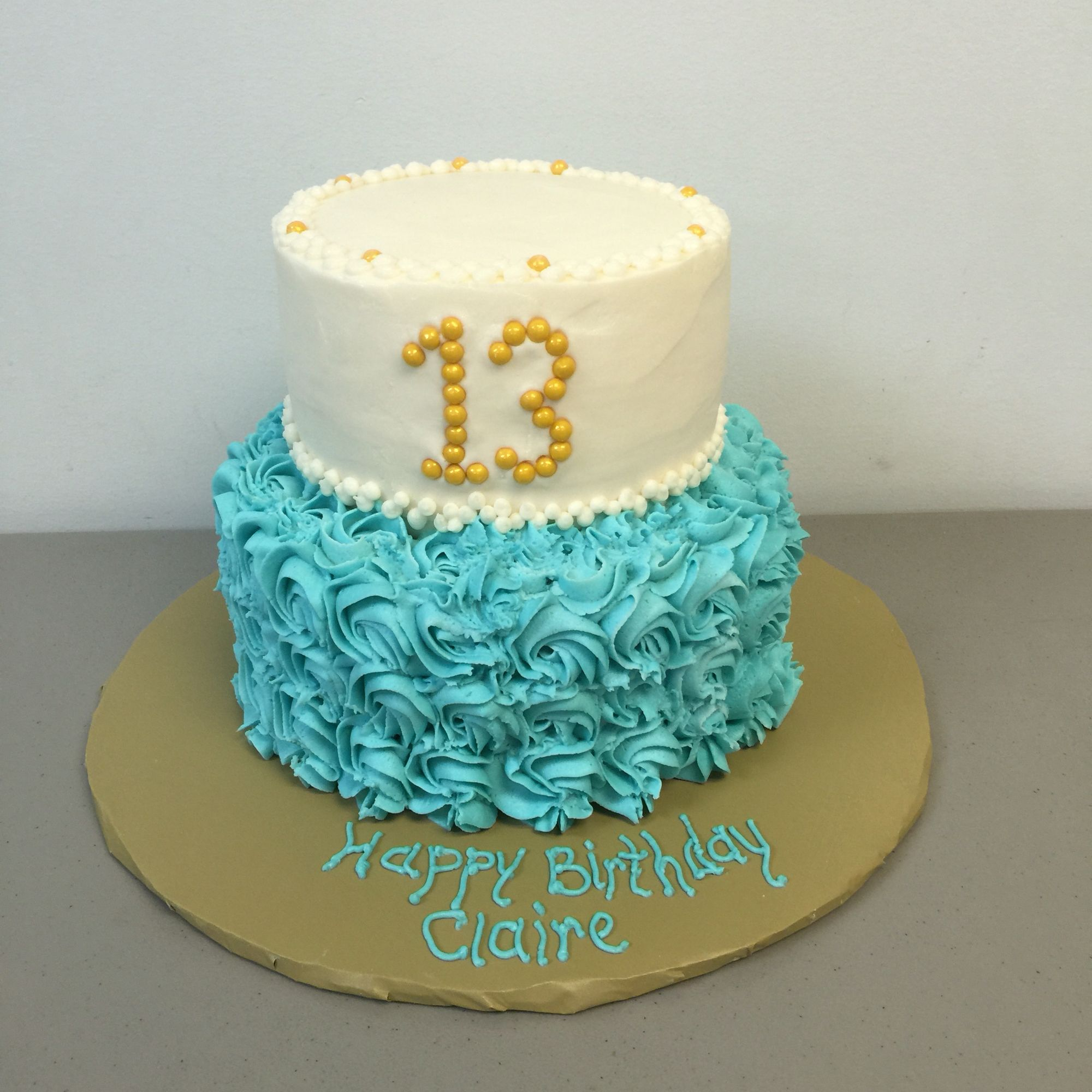 Fine 13 Year Old Birthday Cake With Images 13Th Birthday Cake Funny Birthday Cards Online Inifodamsfinfo