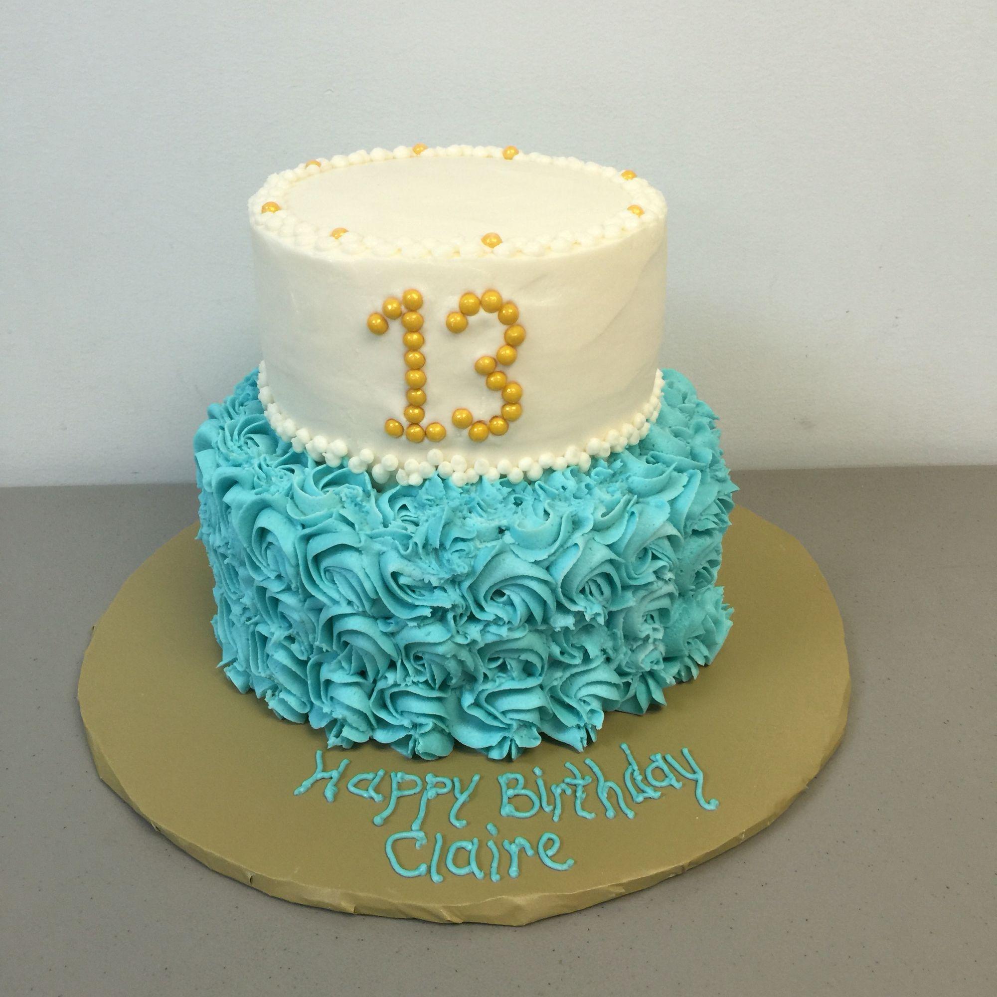13 Year Old Birthday Cake