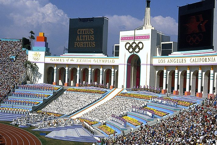 Opening ceremony of the 1984 Summer Olympics (With images ...