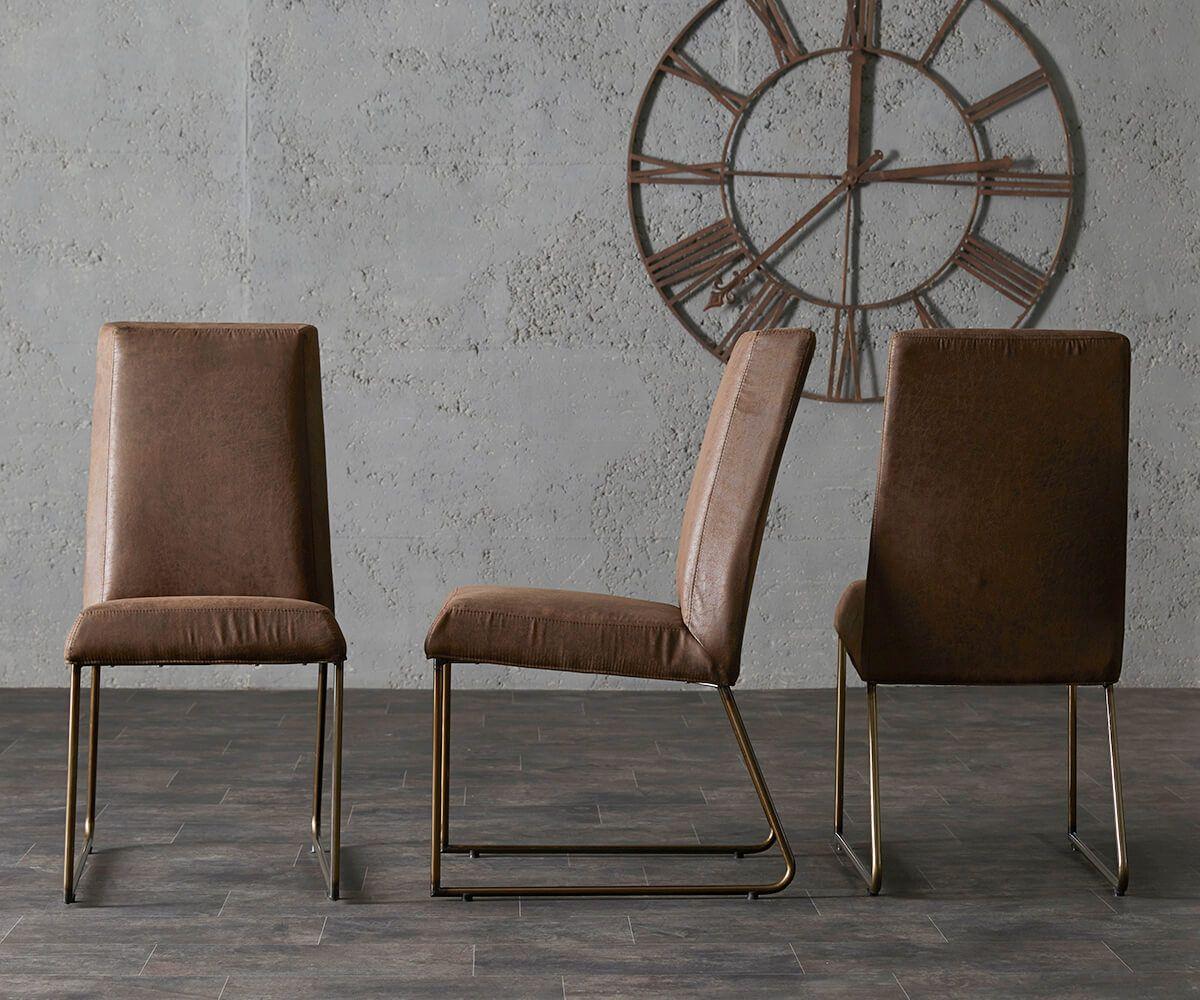 Verschiedene Esszimmerstühle Metall Ideen Von Delife Esszimmerstuhl Juarez Braun Vintage Optik Beine