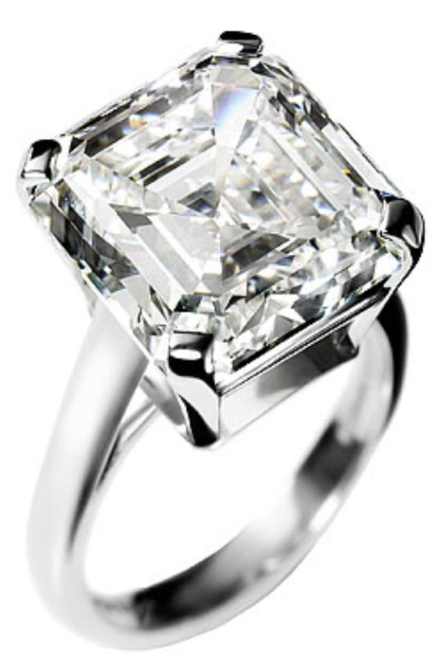 World's Most Expensive Engagement Rings Asscher diamond