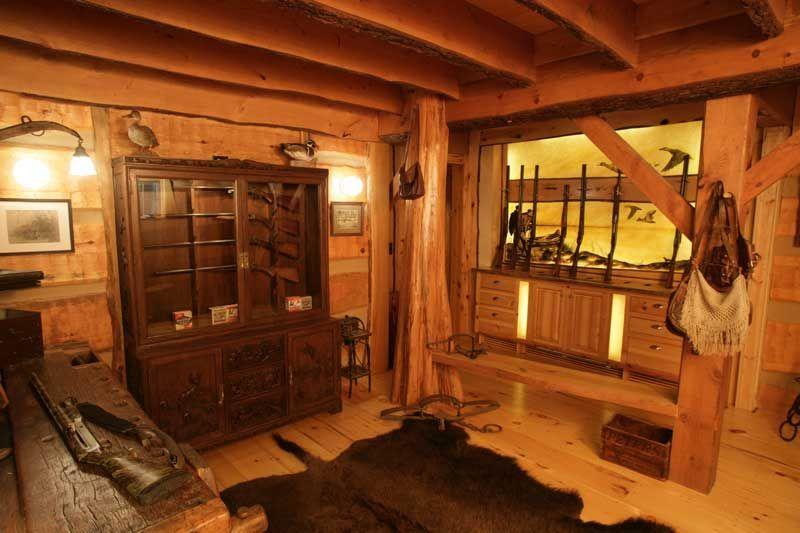 Storage Room Man Cave : Chris would love a gun room man cave house nick