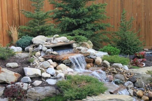 Pondless Water Fall Calgary Alberta With Images Water
