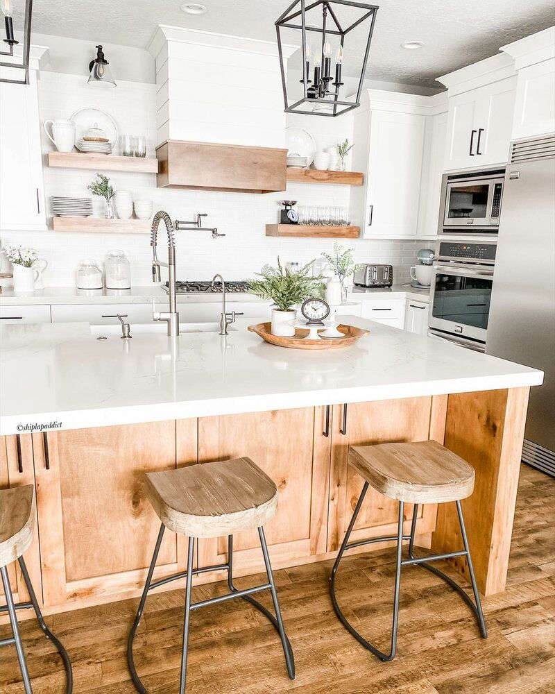Charlie Bar Counter Stool In 2020 Freestanding Kitchen Farmhouse Kitchen Design Freestanding Kitchen Island