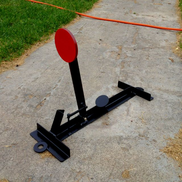 Shooting Target Stand Designs : Homemade steel targets plans ftempo