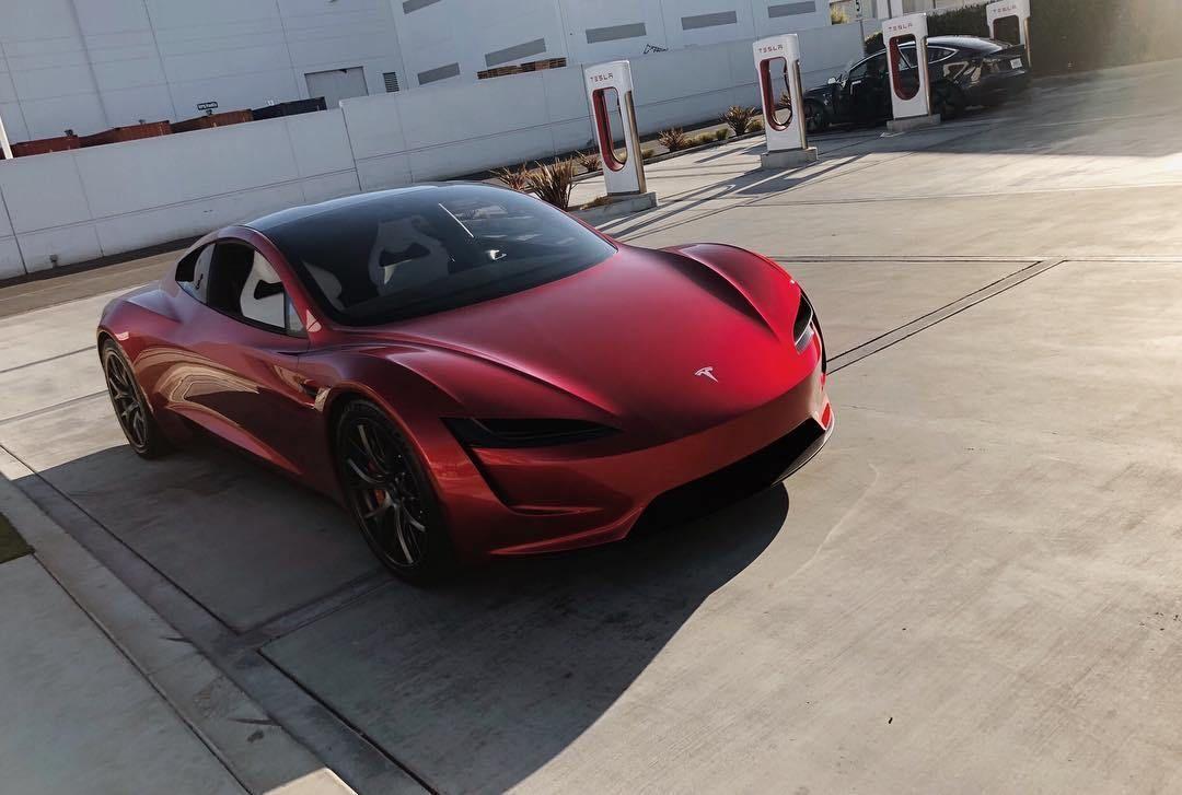 André 🔝 🆕 💯 ↗️ 🆓 on (avec images) Tesla roadster
