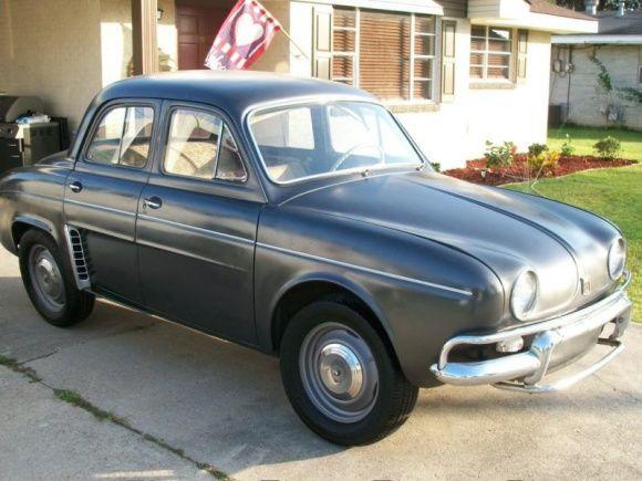 1960 Renault Dauphine For Sale Side Dauphine Renault Restoration