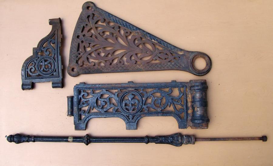 Best Ornate Antique Victorian Cast Iron Spiral Staircase 400 x 300
