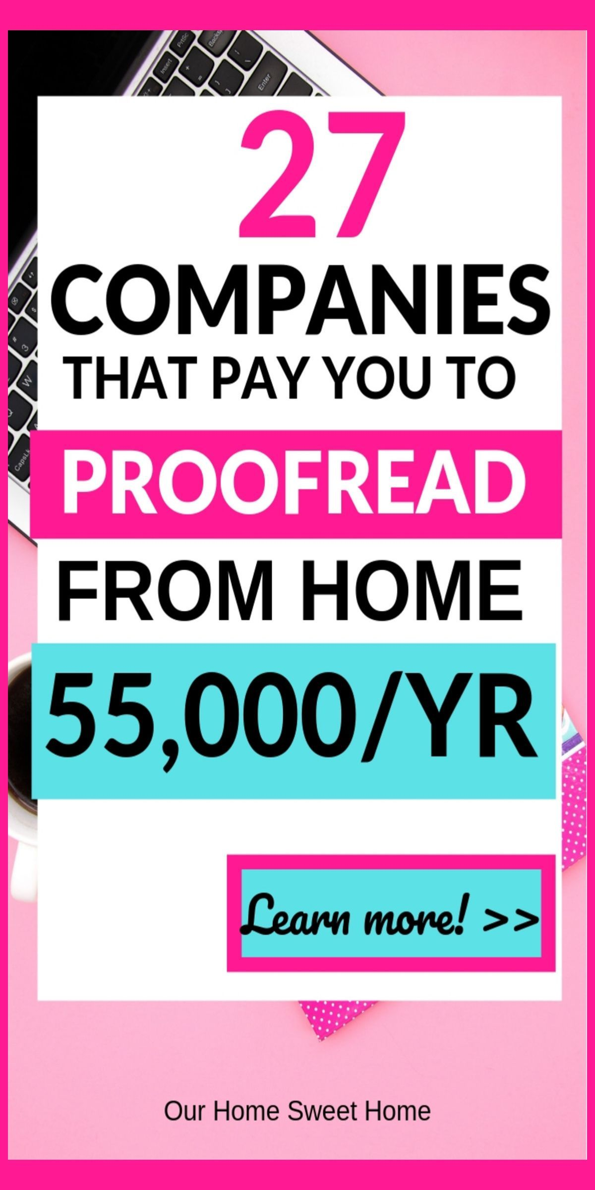 Proofreading Jobs From Home 27 Work From Home