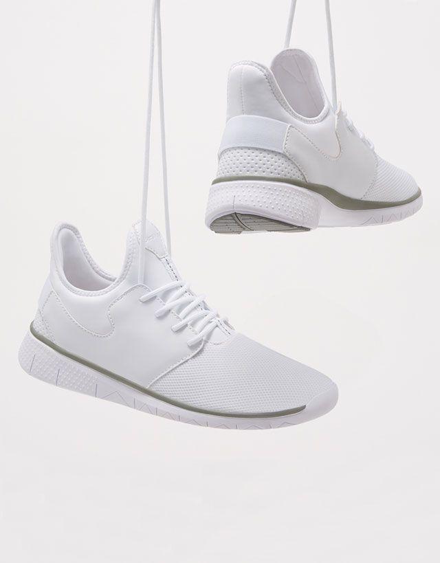chaussures de sport 31473 ace8e Chaussures pour homme - Automne Hiver 2017 | Bershka | look ...