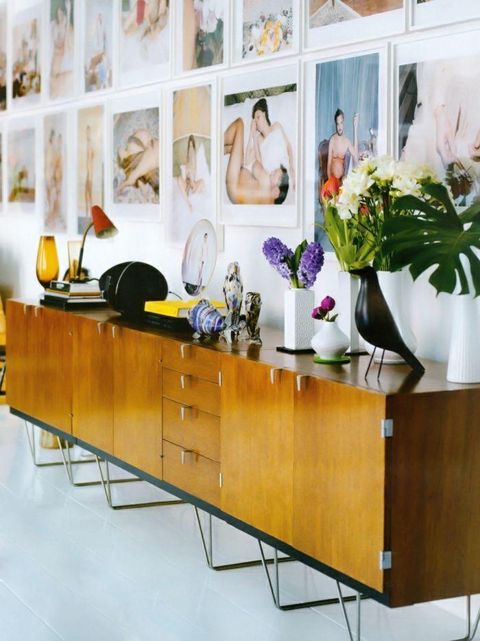 sideboard dekorieren 99 schicke dekoideen f r ihr zuhause interieur pinterest dekorieren. Black Bedroom Furniture Sets. Home Design Ideas