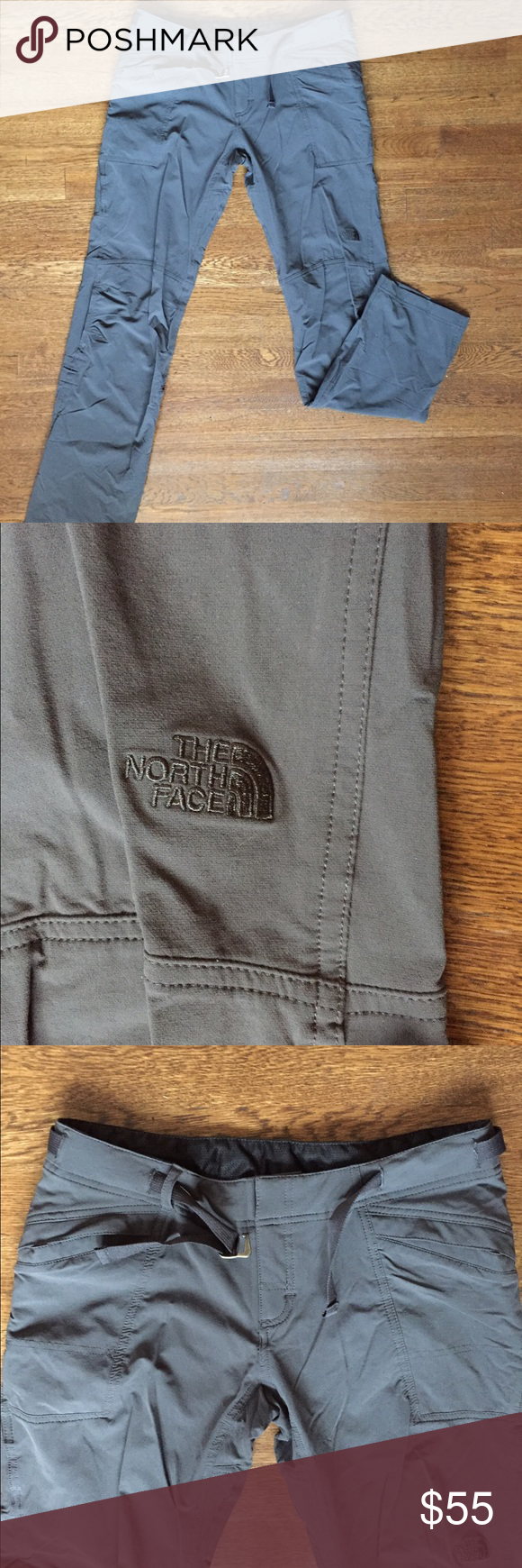 The North Face Hike Pants NWOT! In great condition. North Face Pants Straight Leg