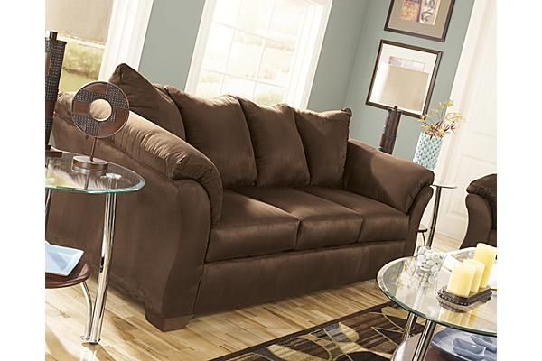 brown sofa and loveseat ashley the darcy sofa from ashley furniture homestore reviewthis is