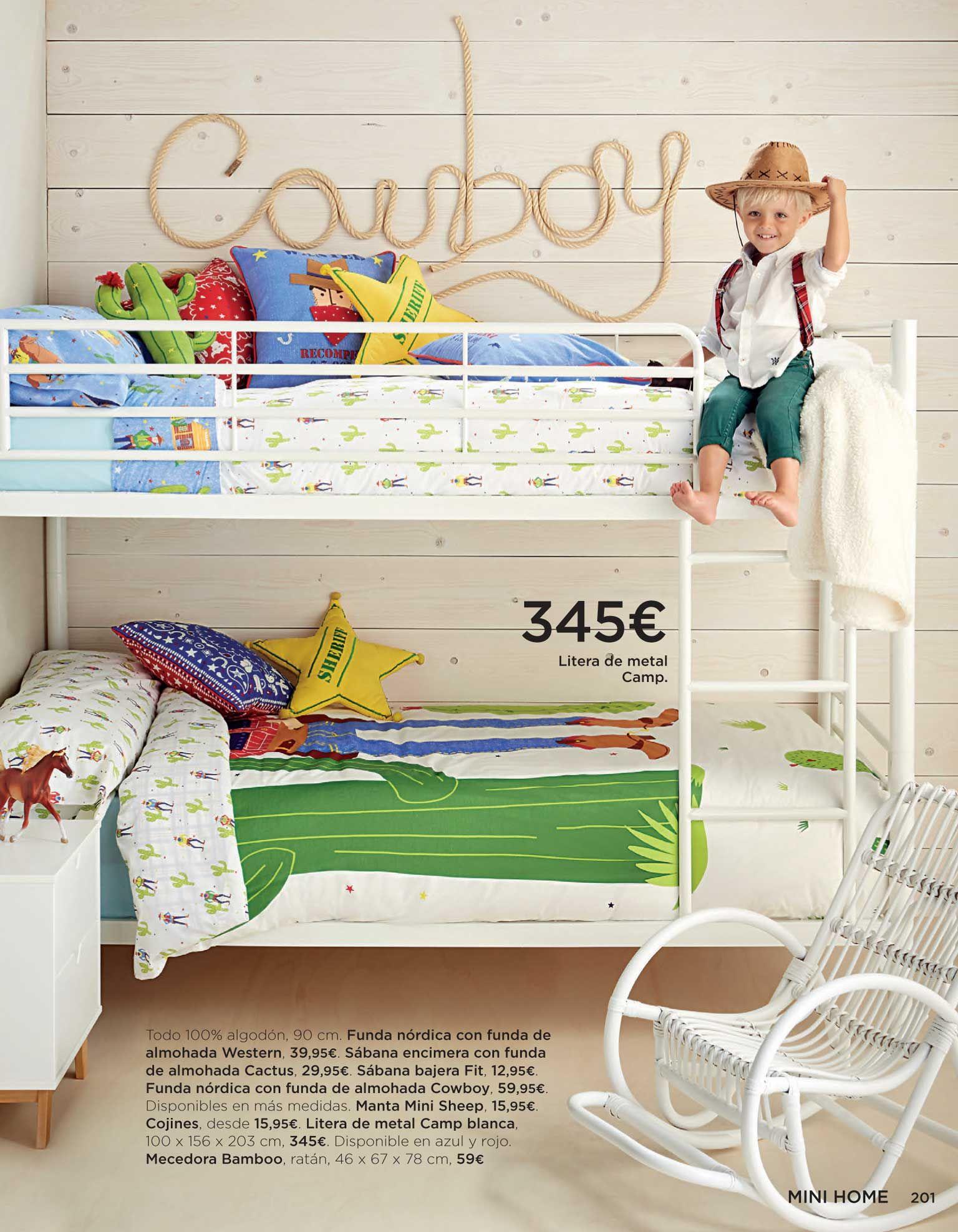 Litera De Metal Mini Home El Corte Ingl S Camp Blanco Cosas  ~ Dormitorios Juveniles Corte Ingles Catalogo