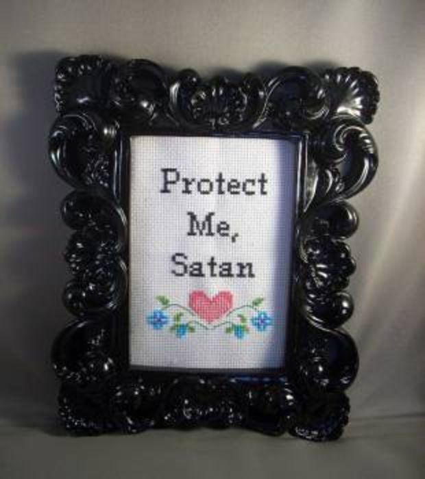 Do it yourself kit protect me satan decor pinterest do it yourself kit protect me satan solutioingenieria