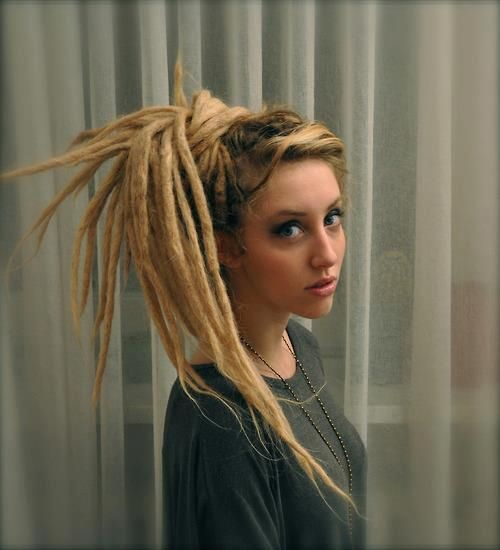Blonde dreads... I'll think about it