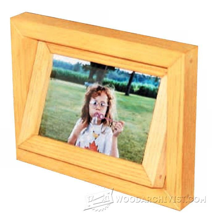Two-Sided Picture Frame Plans | Carpintería, Marcos y Varios