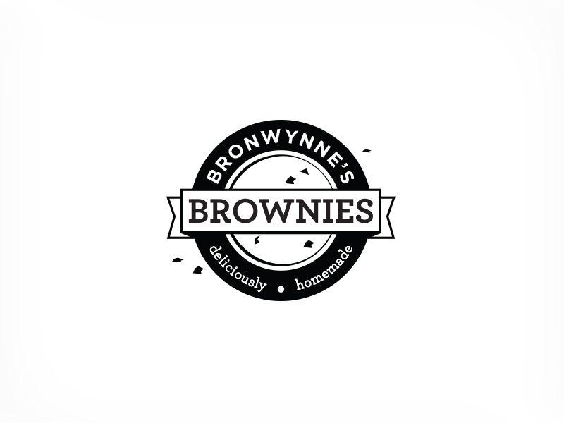 Bronwynnes brownies logo pinterest brownies logos and corporate bronwynnes brownies logo by paul malvernweather Gallery