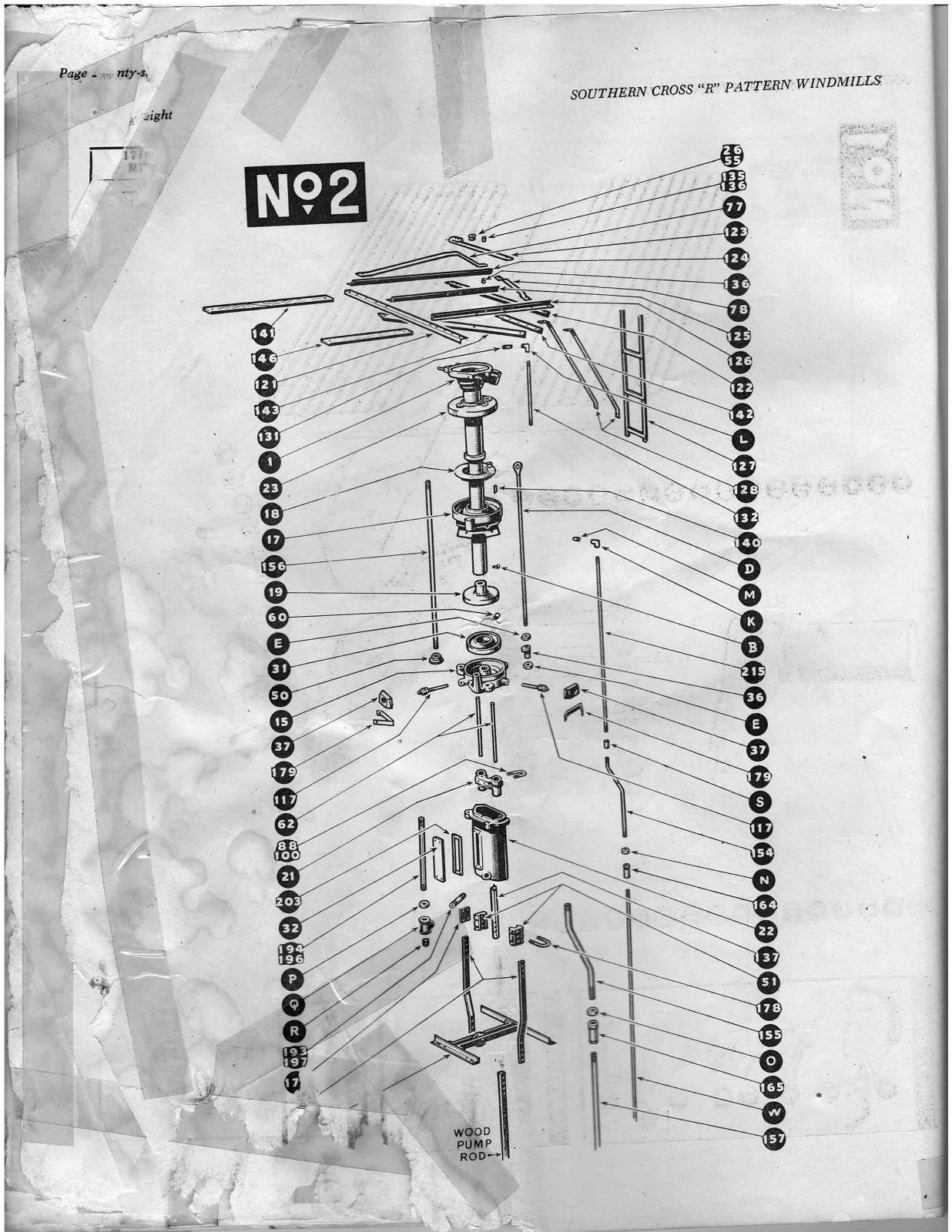 Southern cross r pattern windmill erecting instructions manual southern cross r pattern windmill erecting instructions manual 28 pages on cd ebay pooptronica Gallery