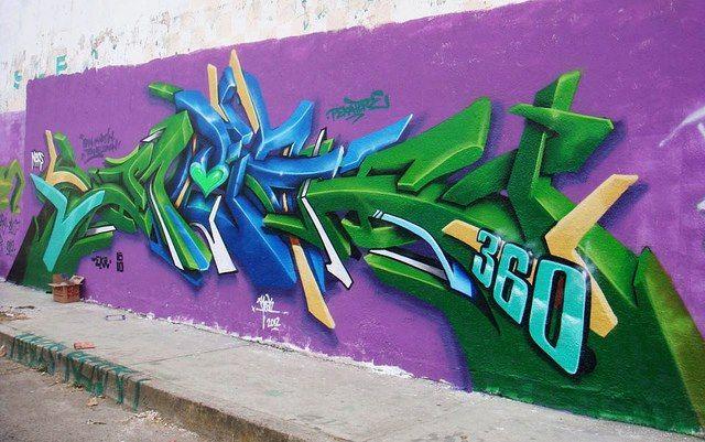 Grafitti Art By Reak