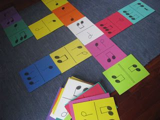 """Notable Music Studio: Domi""""notes"""" This would be a fun game for group lessons"""