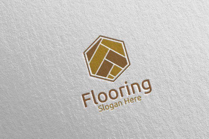 Flooring Parquet Wooden Logo 10 786290 Logos Design Bundles In 2020 Wooden Logo Broucher Design Logo Design