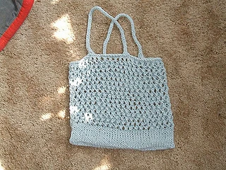 Ravelry: Easy Grocery Bag pattern by Zortified in 2020 ...
