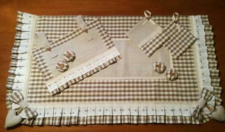 Coprifornelli e copriforno handmade
