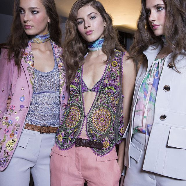 There's a #Pucci party happening on site! Get lost in a kaleidoscope dream of retro-inspired styles #OnSiteNow