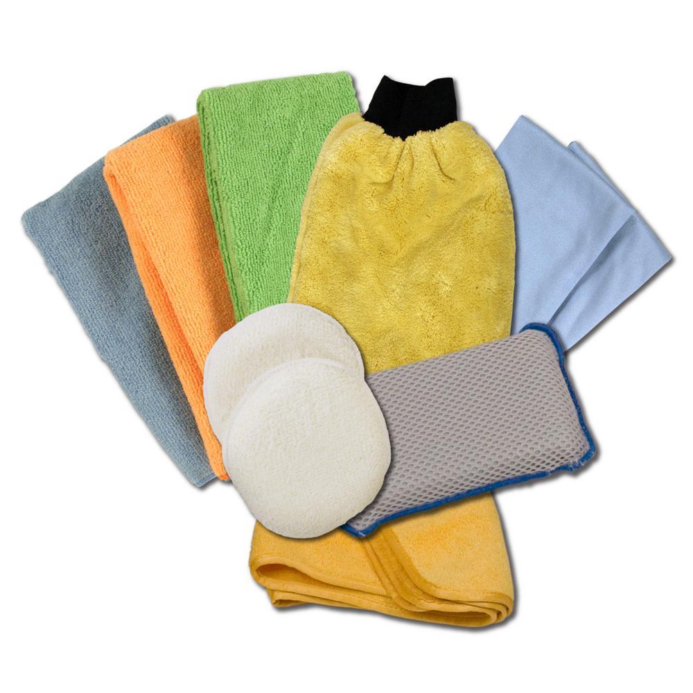 Detailers choice microfiber detailing kit 10pack