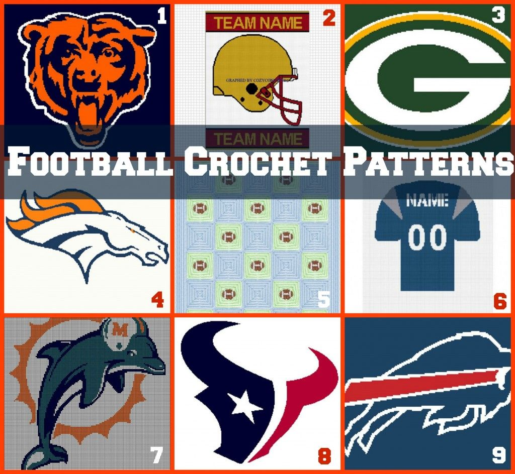 Link love football crochet patterns crocheted afghans afghans link love football crochet patterns bankloansurffo Image collections