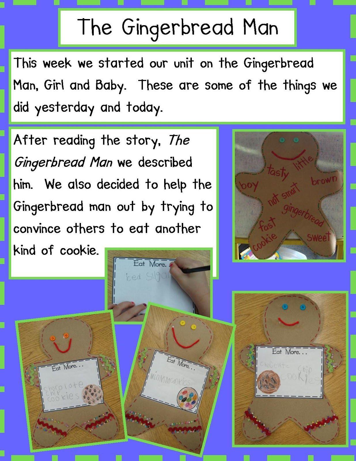 Golden Gang Kindergarten Christmas Kindergarten Gingerbread Man Activities Gingerbread Man Kindergarten [ 1600 x 1236 Pixel ]